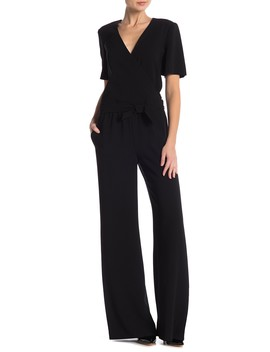 Surplice Jumpsuit by Theory