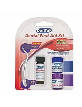 Den Tek Toothache Kit | Instant Pain Relief | Contains Applicator, Toothache Medication, Temporary Filler, And Tooth... by Den Tek
