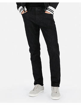 Classic Slim Black Wash Stretch Jeans by Express