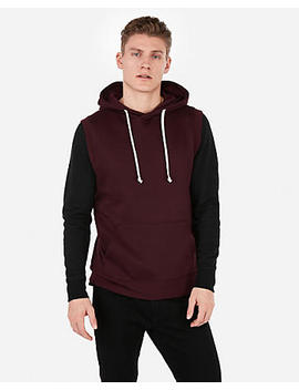 Exp Weekend Sleeveless Popover Hoodie by Express