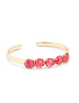 Nash Gold Adjustable Bracelet In Berry Illusion by Kendra Scott