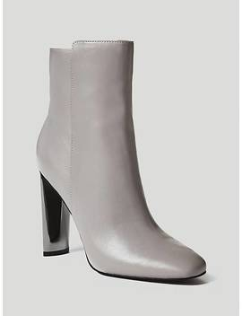 Kitty Leather Low Boot by Guess