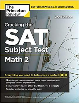 Cracking The Sat Math 2 Subject Test (College Test Prep) by Princeton Review