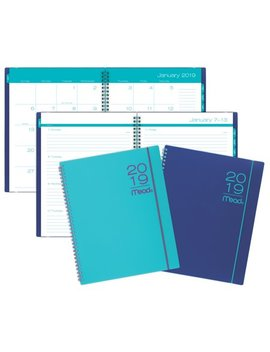 Mead Color Pop Weekly/Monthly Planner,12 Months,Assorted Colors by Mead