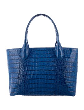 Crocodile Tote Bag by Byron New York