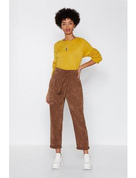 Bag These Corduroy Pants by Nasty Gal