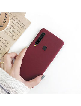 For Samsung Galaxy A9 A7 2018 A8 A6 Plus Sandstone Slim Silicone Soft Case Cover by Unbranded/Generic