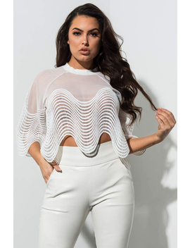 Higher Vibes Mesh Lace Top by Akira