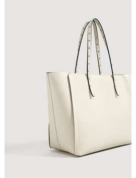 Carteira Shopper Tachas by Mango