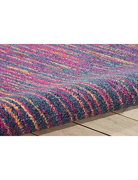 "Nourison Passion Modern Abstract Colorful Multicolor Area Rug, 5'3"" X 7'3"" by Nourison"