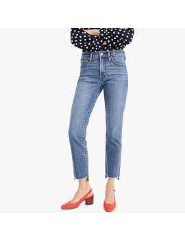 Petite Vintage Straight Jean In Soft Light Indigo Wash by J.Crew