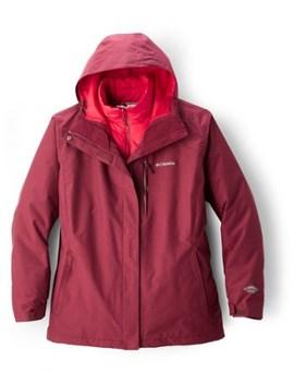 Columbia   Whirlibird Iii Interchange 3 In 1 Jacket   Women's Plus Sizes by Columbia