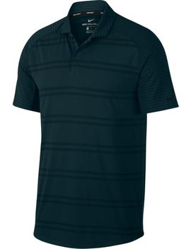 Nike Men's Zonal Cooling Stripe Raglan Golf Polo by Nike
