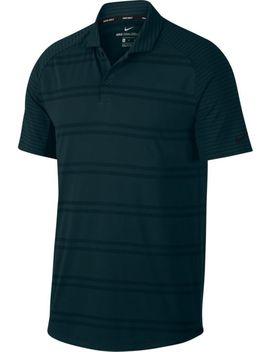 Nike Men's Zonal Cooling Stripe Raglan Golf Polo by Nike