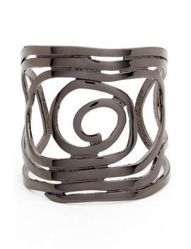Julie Swirl Cuff by Karine Sultan