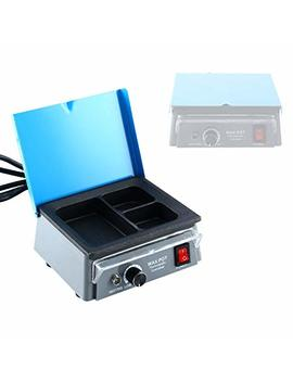 Dentist Dental 3 Well Analog Wax Melting Dipping Pot Heater Melt Machine Lab Equipment by Yae Ccc