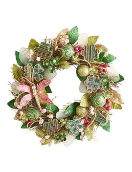 "22"" St. Patrick's Day Shamrocks Wreath by Pier1 Imports"