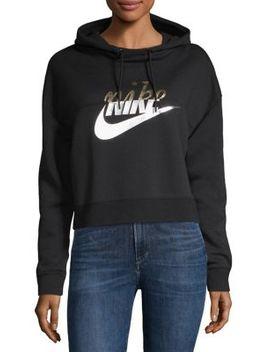 Long Sleeve Logo Hoodie by Nike