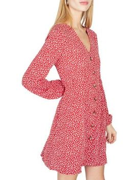 Sweetheart Ditsy Print Dress by Miss Selfridge