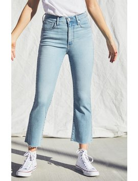 Levi's Mile High Cropped Flare Jeans by Pacsun