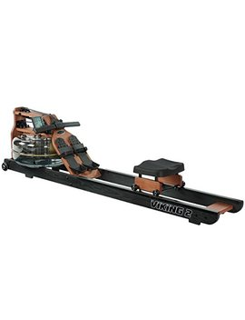 First Degree Fitness Indoor Water Rower With Adjustable Resistance   Viking Ii Black Reserve by First Degree