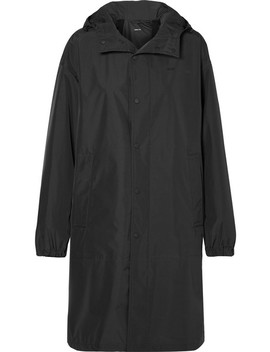 Oversized Hooded Shell Raincoat by Helmut Lang