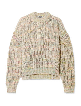 Zora Oversized Knitted Sweater by Acne Studios