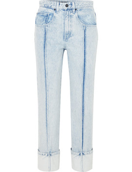 High Rise Slim Leg Jeans by Alexander Wang