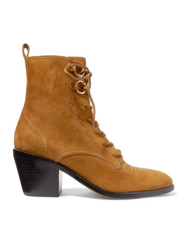 Dakota Suede Ankle Boots by Diane Von Furstenberg