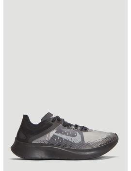 Zoom Fly Sp Fast Running Sneakers In Black by Nike