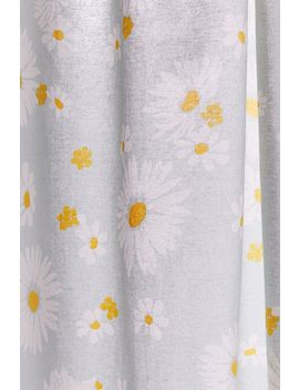 Allover Daisies Shower Curtain by Urban Outfitters