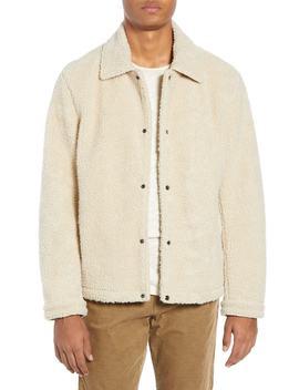 Faux Fur Coach's Jacket by Vince