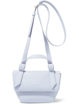 Musubi Milli Knotted Leather Shoulder Bag by Acne Studios