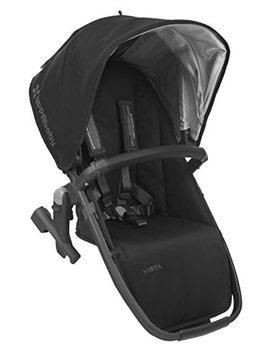 2018 Upp Ababy Vista Rumble Seat Jake (Black/Carbon/Black Leather) by Upp Ababy