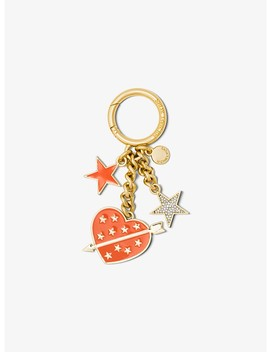 Pavé Gold Tone Key Chain by Michael Michael Kors