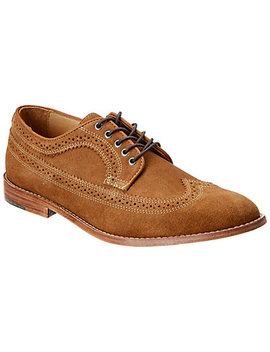 Warfield & Grand Turner Suede Oxford by Warfield & Grand