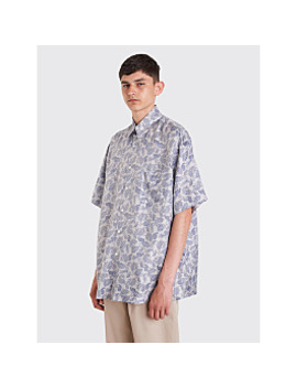 Our Legacy Borrowed Shirt Sun Blue Paisley by Très Bien