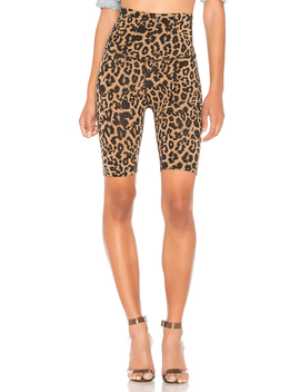 Leopard Bike Short by Lna