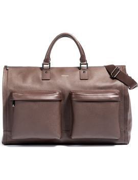 Leather Garment Bag by Hook + Albert