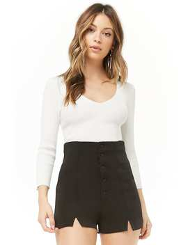 High Waist Shorts by Forever 21