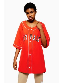 Baseball Logo Oversized T Shirt By Ivy Park by Topshop