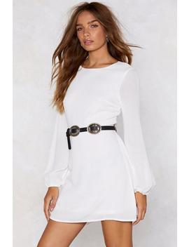 Come Back To Me Tie Dress by Nasty Gal