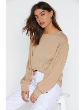 Puff Break Top by Nasty Gal