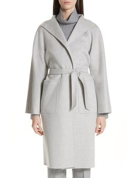 Lilia Cashmere Wrap Coat by Max Mara