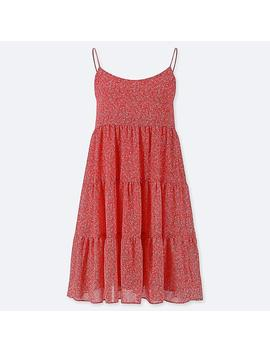 Women Georgette Cami Dress by Uniqlo