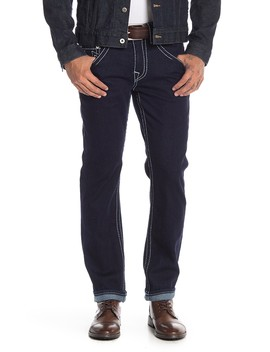 Big T Topstitched Skinny Jeans by True Religion