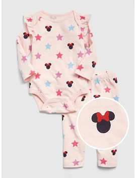 Baby Gap | Disney Minnie Mouse Bodysuit Set by Gap