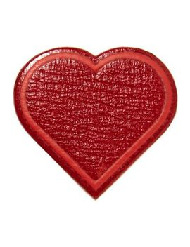 Heart Textured Leather Sticker by Anya Hindmarch