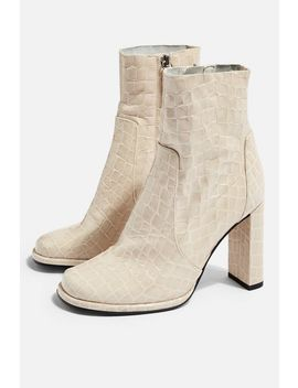 Hattie High Ankle Boots by Topshop