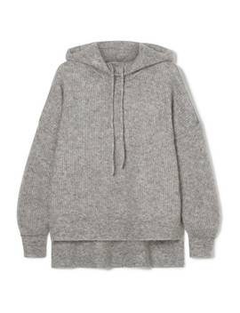Callahan Knitted Hoodie by Ganni